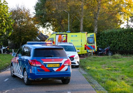 Motorrijder gewond bij ongeluk in Klarenbeek