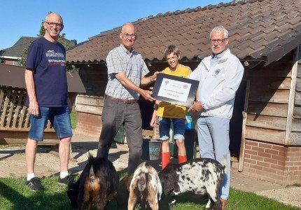 Donaties voor dierenweides in Zutphen en Warnsveld