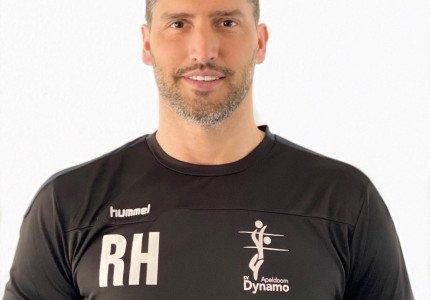Robert Horstink nieuwe hoofdtrainer jongens-/herenlijn SV Dynamo