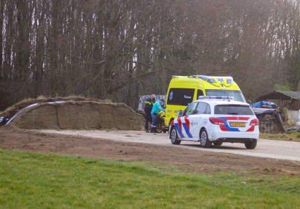 Gewonde bij ongeval in Vierakker