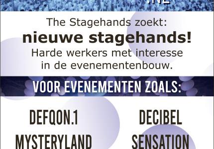 Nieuwe stagehands!