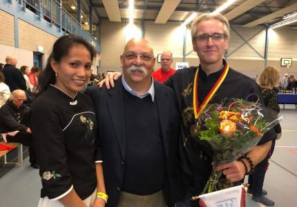 Apeldoornse atleet gehuldigd op het STN-Festival