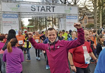 Plezierig en gezond finishen in de Acht van Apeldoorn