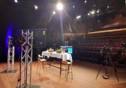 Professionele online live-uitzending bij MIMIK
