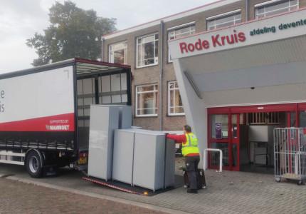 Rode Kruis Deventer verlaat onderkomen