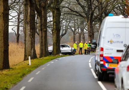 Automobilist (32) uit Raalte komt om bij verkeersongeluk op Kanaal Zuid bij Apeldoorn